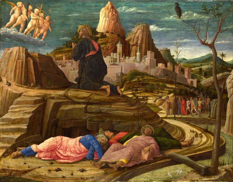 Agony in the Garden, Mantegna