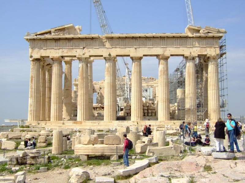 Athens Greece, Acropolis, Parthenon, Marble, Flood Geology Challenge