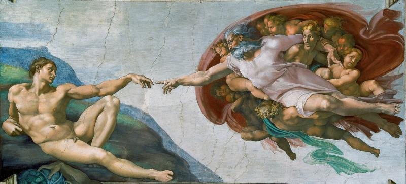 Creation of Adam, Genesis