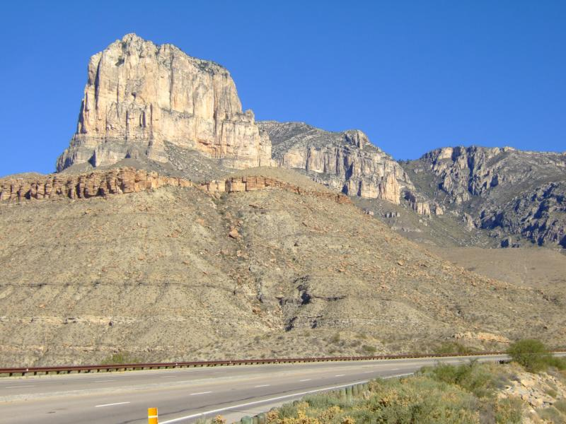 El Capitan, Guadalupe Mountains National Park, Permian Reef, Flood Geology
