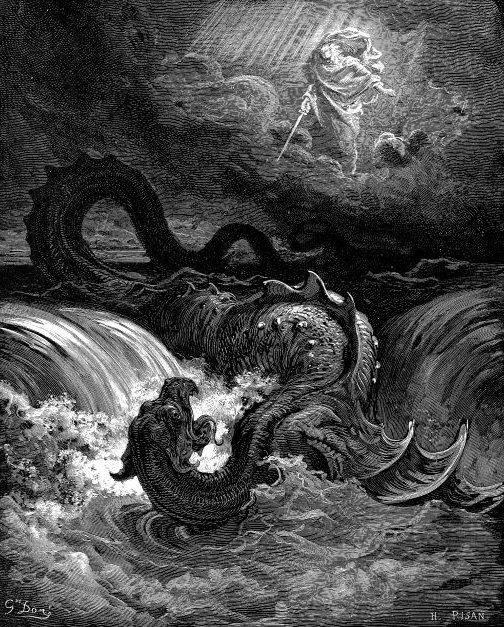 Destruction of Leviathan, Gustav Dore