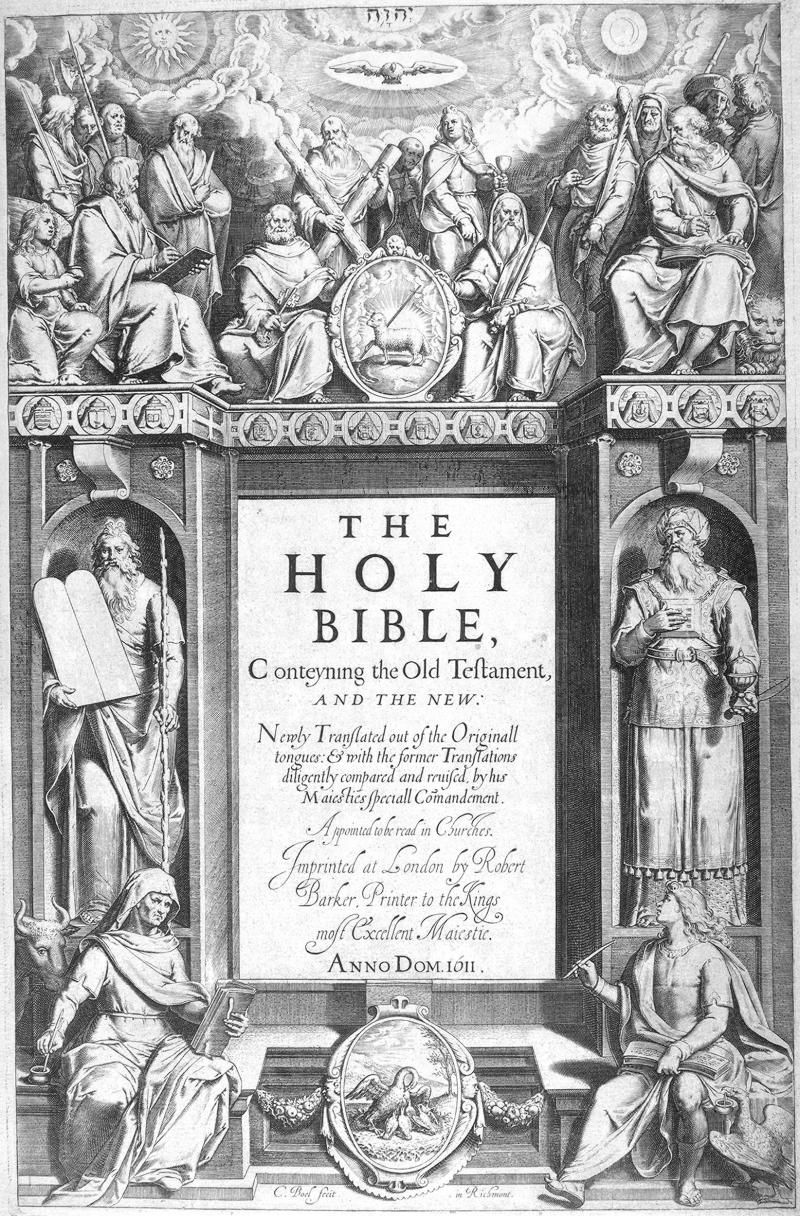 King James 1611 Edition Title Page