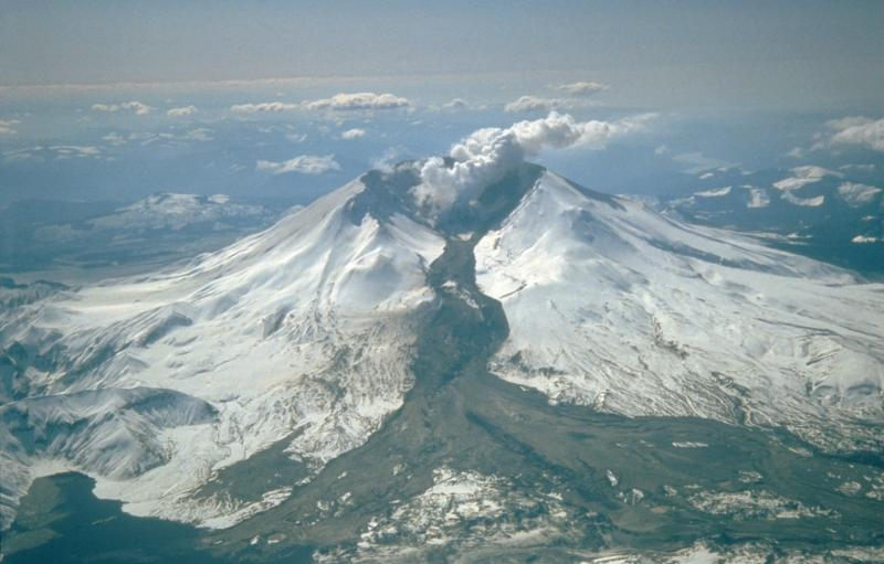 Mt St Helens, volcanic eruption, fall, curse, Genesis