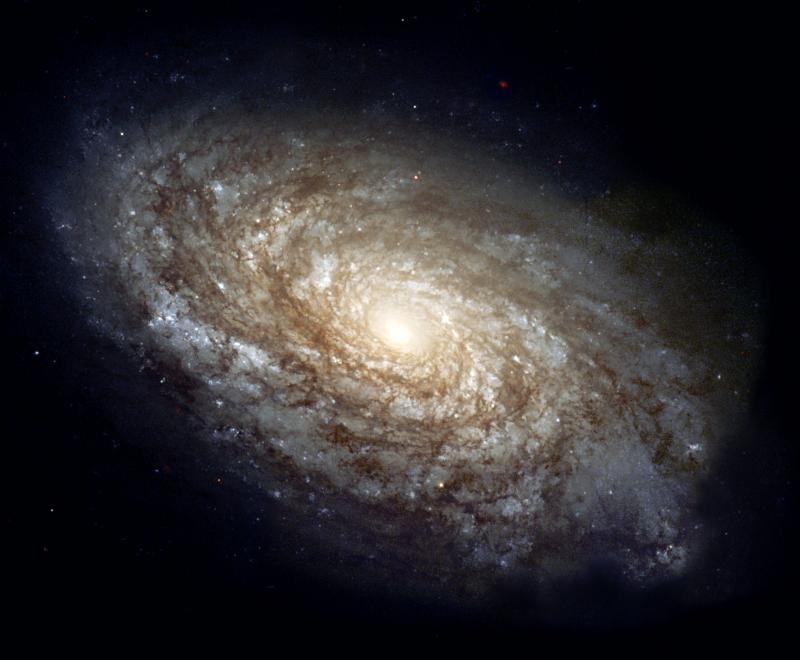 NGC 4414 Spiral Galaxy, Genesis 1, Creation