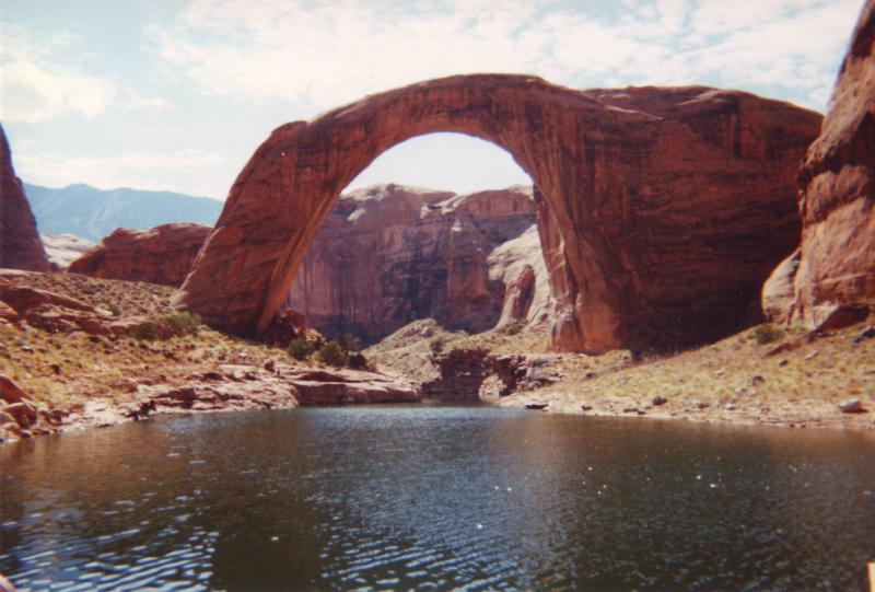 Rainbow Bridge, Utah, Bible and Geology