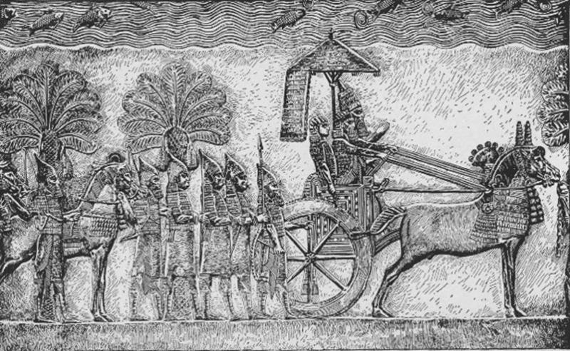 Assyrian King Sennacherib