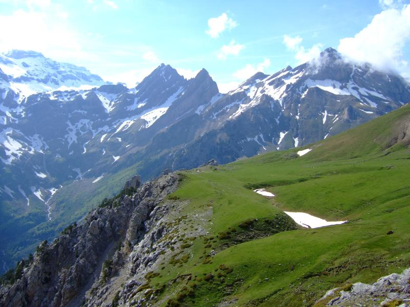 Spanish Pyrenees Mountains, Creation, Geology