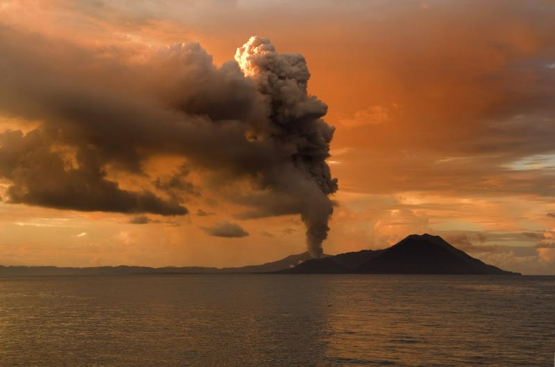 Stratovolcano eruption, Tribulation Period Geology